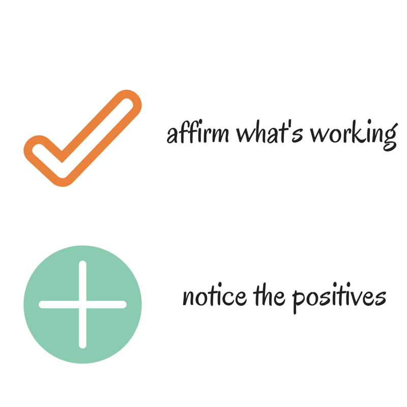 affirm reinforce
